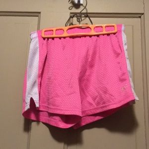 Justice Bottoms - Girls pink gym shorts